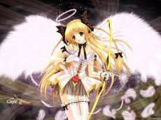 Анимэ девушки - ангелы