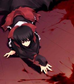 аниме картинки с кровью