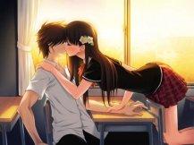 аниме про любовь и школу