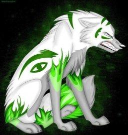 Аниме, волки-фурри