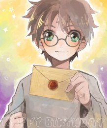 [Harry Potter in the anime]