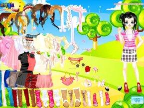 игры для девочек одевалки