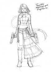 Как нарисовать аниме девушку
