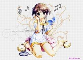 Белоснежная девушка, Anime