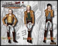Одежда из аниме Вторжение