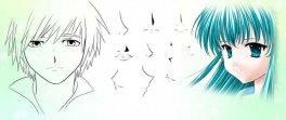Урок: рисунок в стиле анимэ